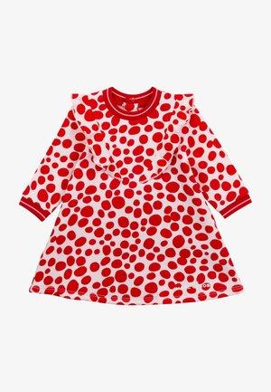 Geboortegeschenk - rose rouge