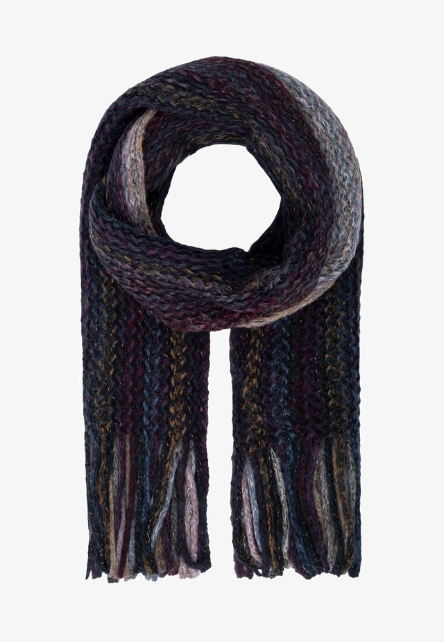 Écharpe - schwarz-multicolor