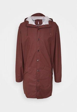 UNISEX LONG JACKET - Waterproof jacket - maroon