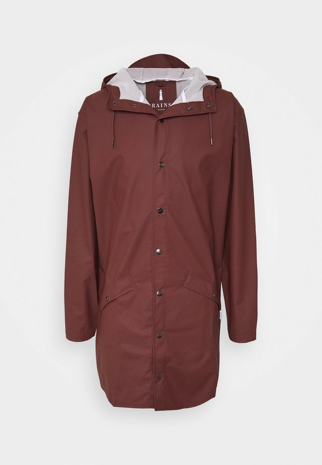 UNISEX LONG JACKET - Waterproof jacket - maroon