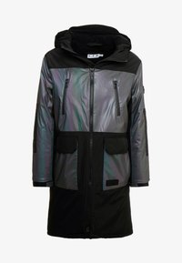 Topman - IRRESDESCENT PUFFER - Giacca invernale - black - 5