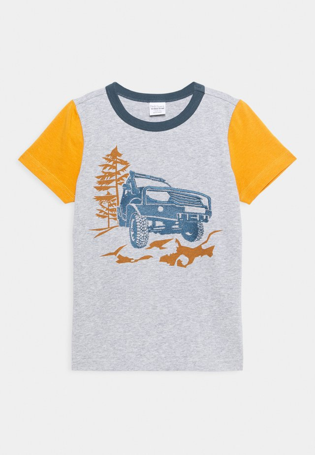 SAFARI OFF ROAD UNISEX - Print T-shirt - pale grey