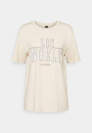 ELLIE TEE - Print T-shirt - fog