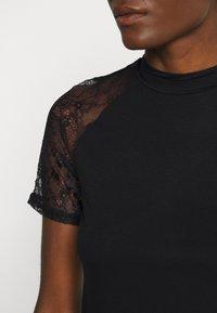 Anna Field - Camiseta estampada - black - 4