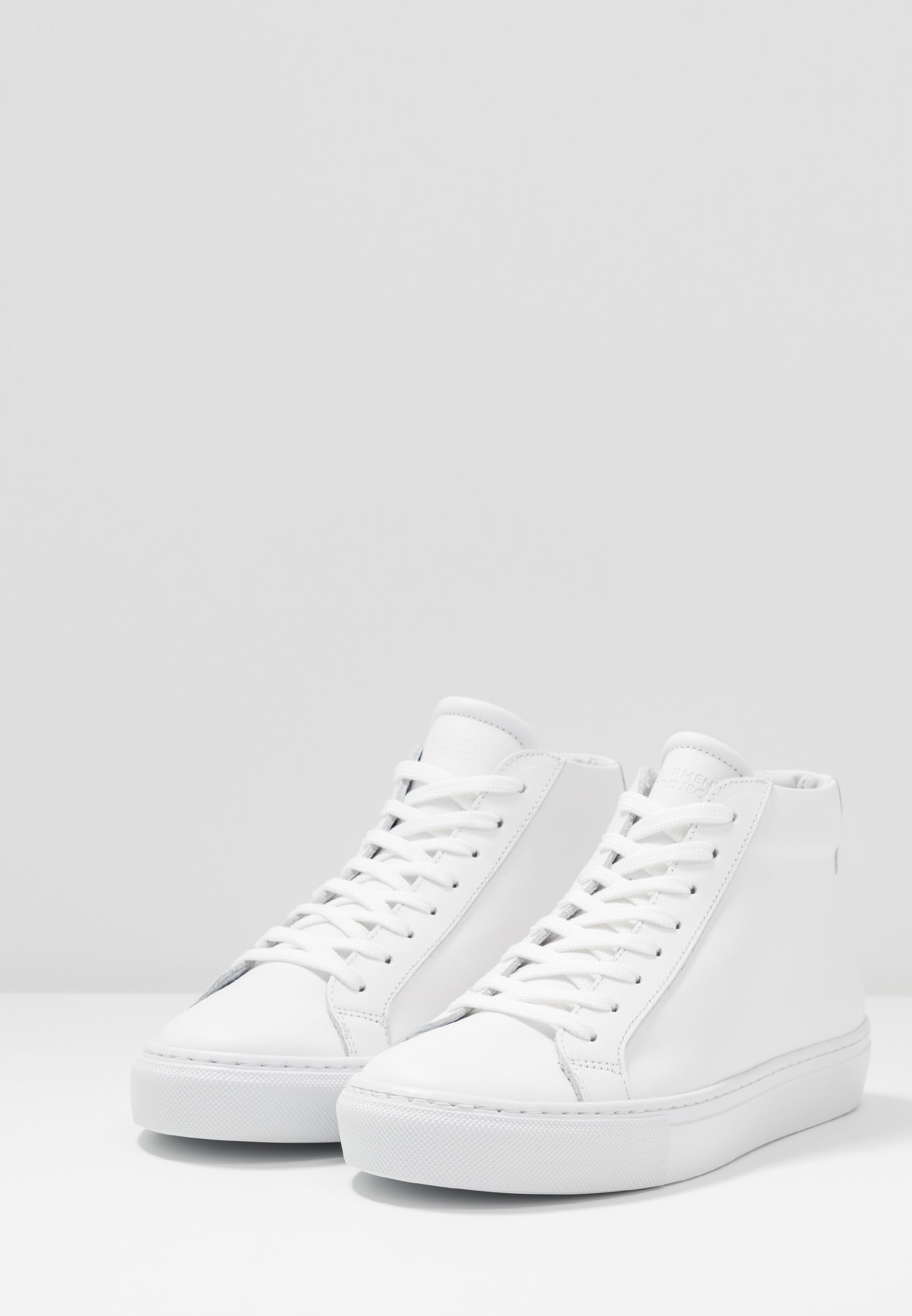 Garment Project Type Mid Slim Sole - Sneakers High White/light Grey