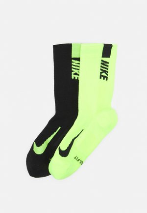 2 PACK UNISEX - Sports socks - black