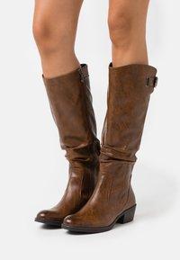 Marco Tozzi - Boots - cognac antic - 0