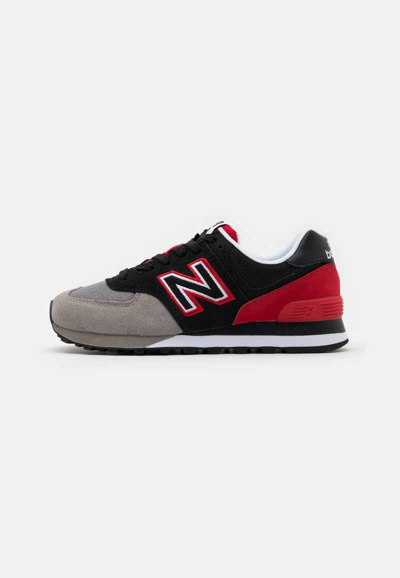 New Balance - SCHUHE ML 574 - Baskets basses - grey/red