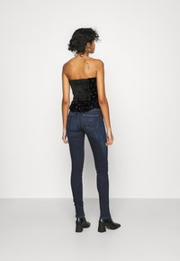 Free People - ROSIE EMBROIDERED BUSTIER - Top - black - 2