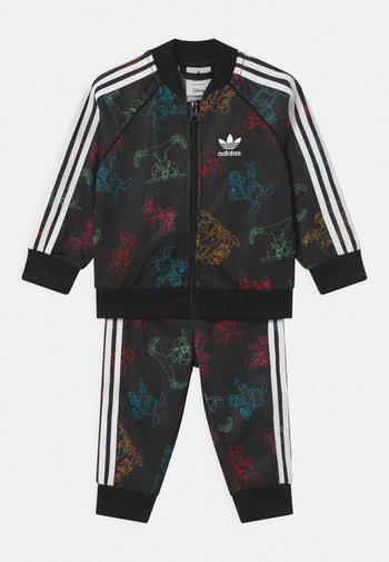 SET UNISEX - Training jacket - black/multicolor