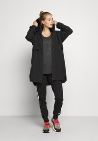 adidas Performance - URBAN RAIN - Parka - black - 1