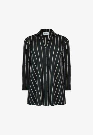 STRIPE SUSTAINABLE  - Button-down blouse - black