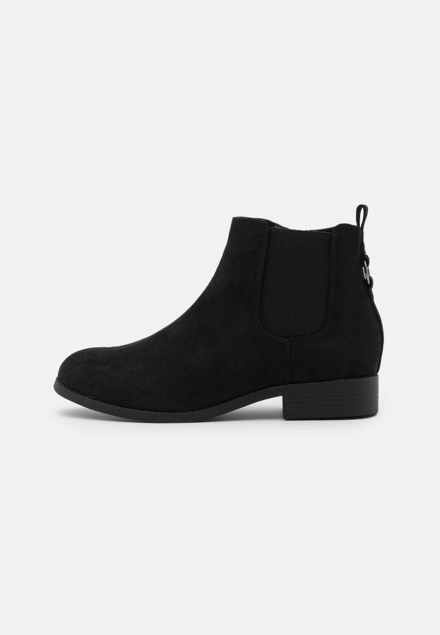 WIDE FIT BINGY CHELSEA - Ankelboots - black