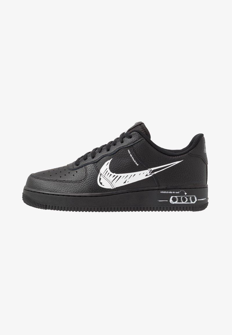 Nike Sportswear - AIR FORCE 1 - Sneakersy niskie - black/white