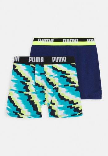BOYS GLITCH BOXER 2 PACK - Pants - blue combo