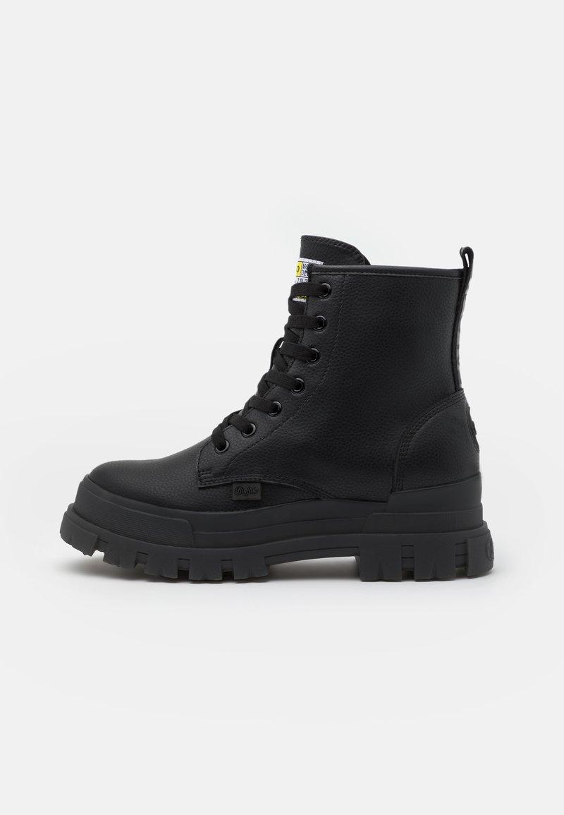 Buffalo - VEGAN ASPHA - Lace-up ankle boots - black