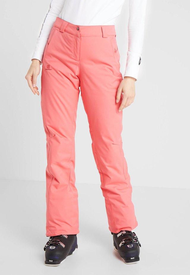 STORMSEASON PANT - Snow pants - calypso coral