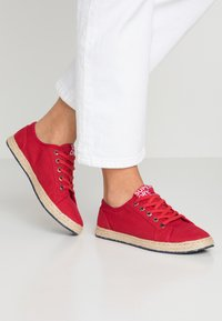 Superdry - LACE UP  - Espadrilles - rouge red - 0