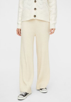 HIGH WAIST - Broek - whitecap gray