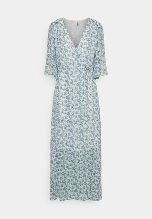YASSUSLA WRAP DRESS SHOW - Maxi dress - eggnog