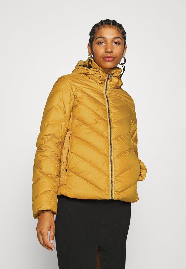WHISTLER SLIM - Down jacket - dark gold