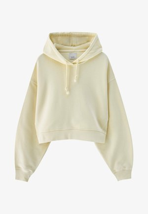 Sweatshirt - mottled dark yellow