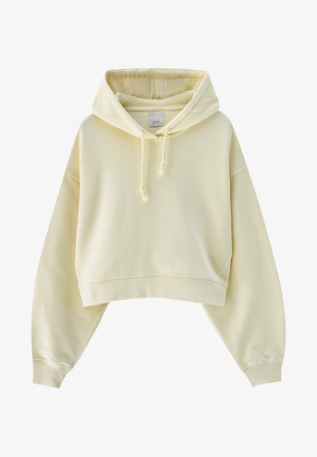 Sweatshirt - mottled dark yellow