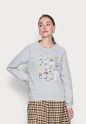 RAGLAN VINTAGE MUSHROOM - Sweater - grey melange