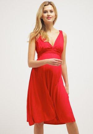 ROMIA - Vestito di maglina - red