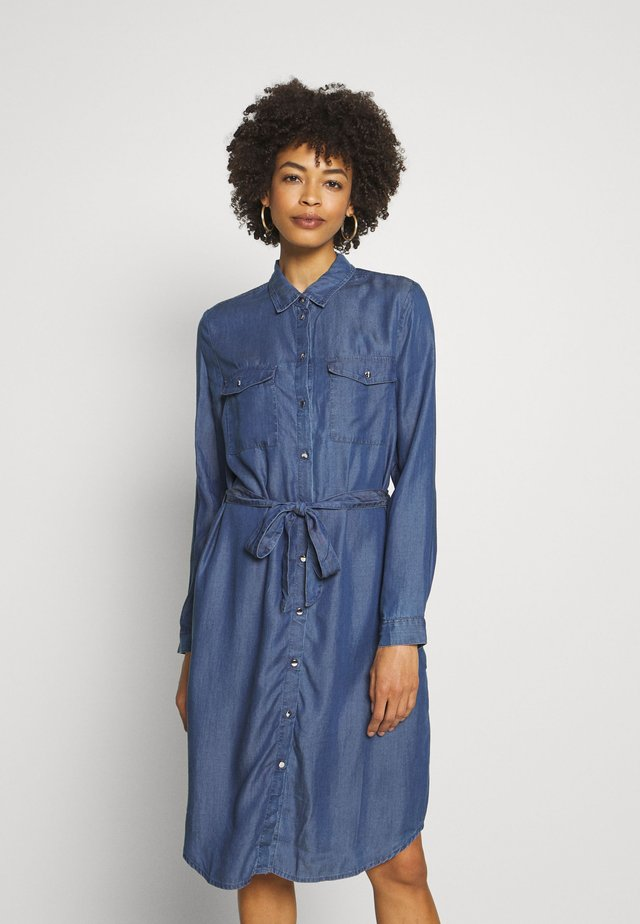 Jerseykjoler - blue denim