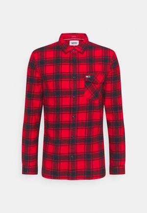 PLAID SHIRT - Skjorta - deep crimson check