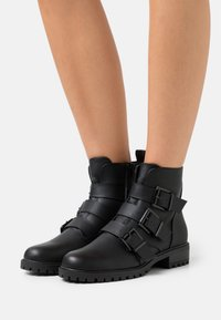 New Look - BOYD - Lace-up ankle boots - black - 0