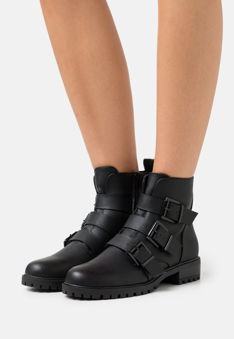 New Look - BOYD - Lace-up ankle boots - black