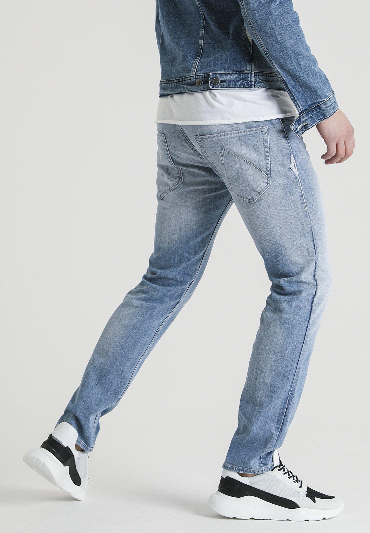 CHASIN' Straight leg jeans - blue  Heren jeans paw2E