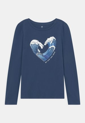 GIRL - Longsleeve - blue shade