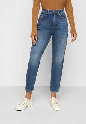 ONLVENEDA LIFE MOM - Straight leg jeans - dark blue denim