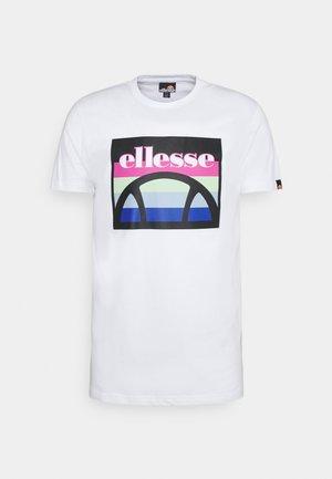 PINUPO TEE - T-shirt con stampa - white