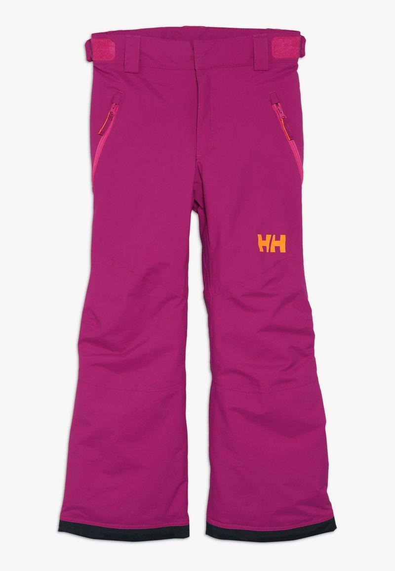 Helly Hansen - LEGENDARY  UNISEX - Snow pants - festival fuchsia