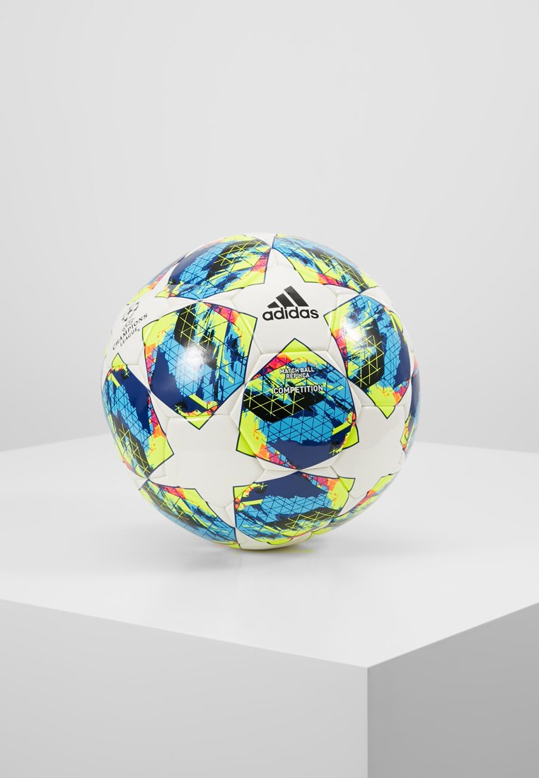 adidas Performance - FINALE COMP - Piłka do piłki nożnej - white/syello
