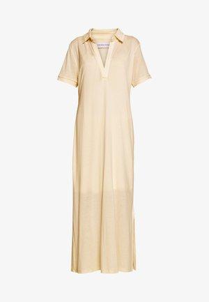 CHERISH POLO DRESS - Jerseykjole - beige