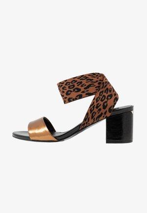 THELMA  - Sandals - brass