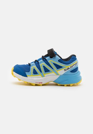 SPEEDCROSS BUNGEE UNISEX - Hiking shoes - turkish sea/little boy blue/lemon zest