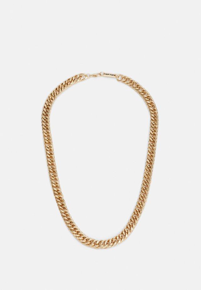 HEAVY LINK NECKLACE - Smykke - gold-coloured