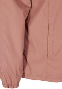 Zizzi - MIT REISSVERSCHLUSS UND KAPUZE - Summer jacket - rose - 5