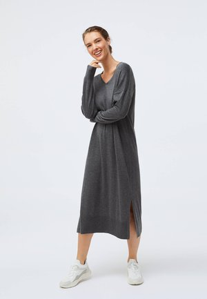Strickkleid - dark grey