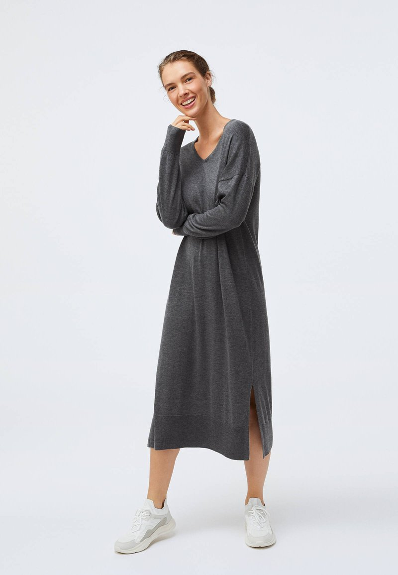 OYSHO - Jumper dress - dark grey