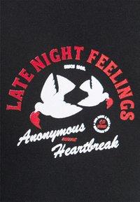 Obey Clothing - LATE NIGH FEELINGS - Print T-shirt - black - 4