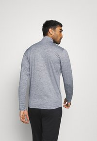New Balance - FORTITECH QUARTER ZIP - Long sleeved top - lead - 2