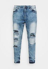 Night Addict - Jeans slim fit - acid wash - 5