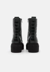Kennel + Schmenger - ROOM - Platform ankle boots - bottle - 3